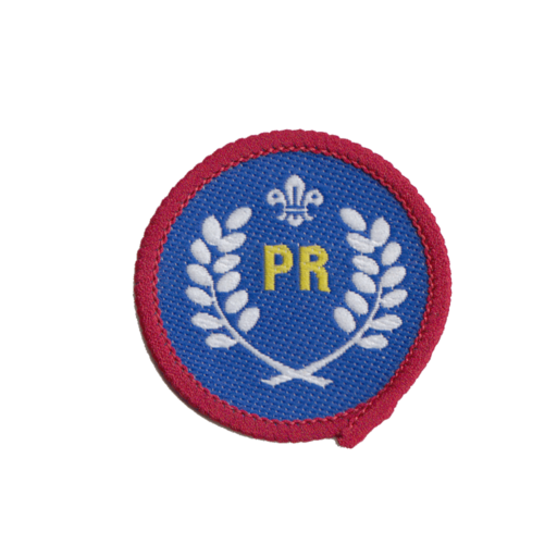 Scouts Public Relations Activity Badge (Pre 2015 Collection)