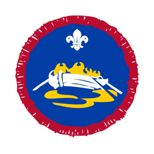 Scouts Pulling Activity Badge
