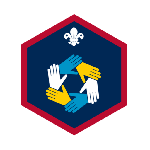 Scouts Teamwork Challenge Award Badge