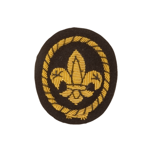 Sea Scouts Cap Gold Wire Badge