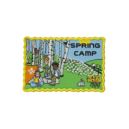 Spring Camp Fun Badge