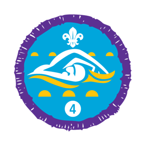 Swimmer Stage 4 Staged Activity Badge