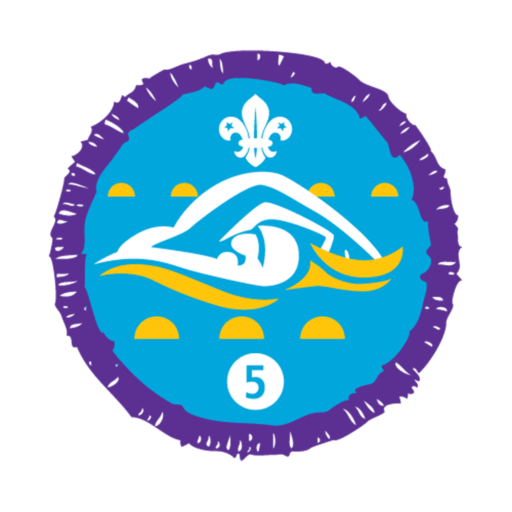 Swimmer Stage 5 Staged Activity Badge