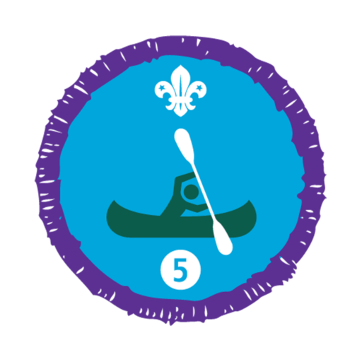 Time on the Water Stage 5 Staged Activity Badge