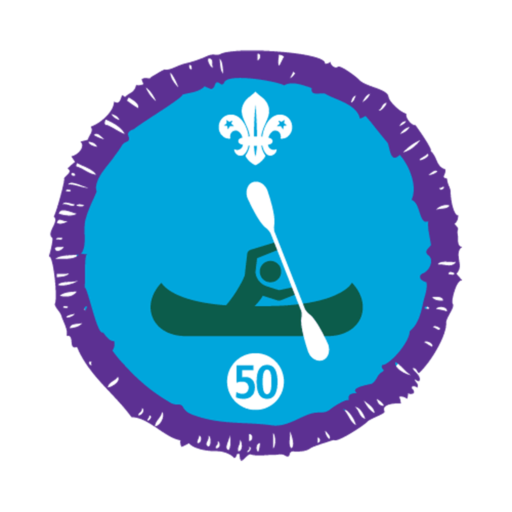 Time on the Water Stage 50 Staged Activity Badge
