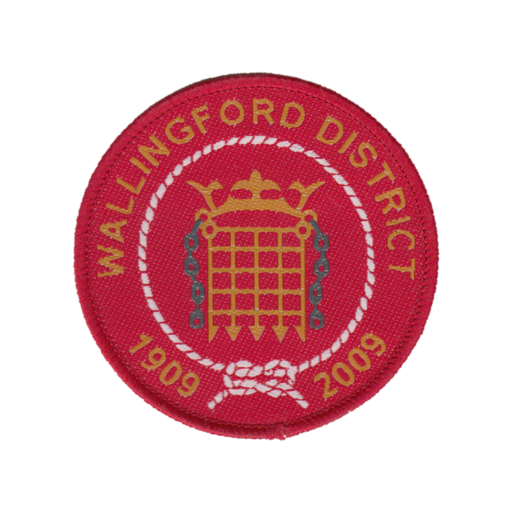 Wallingford District Centenary Commemorative Badge