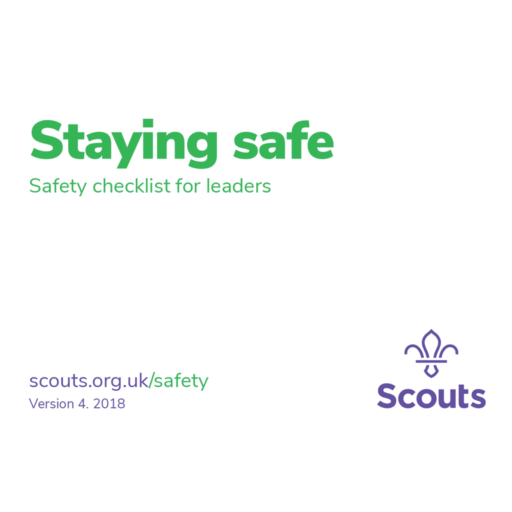 Safety Checklist for Leaders – White Card