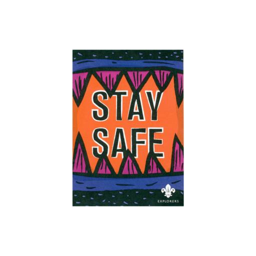 Explorers Stay Safe Leaflet