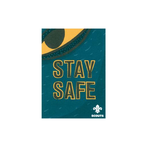 Scouts Stay Safe Leaflet