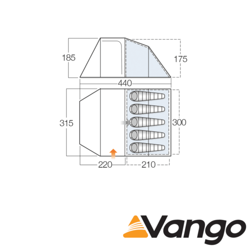 Vango Skye 500