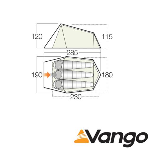 Vango Soul 300 – Treetops