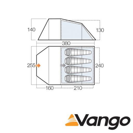 Vango Spey 400+