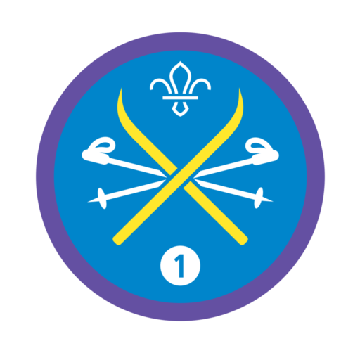 Snowsports Stage 1 Staged Activity Badge