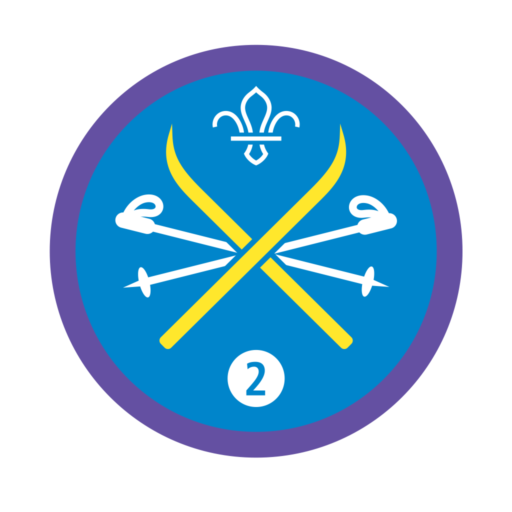 Snowsports Stage 2 Staged Activity Badge