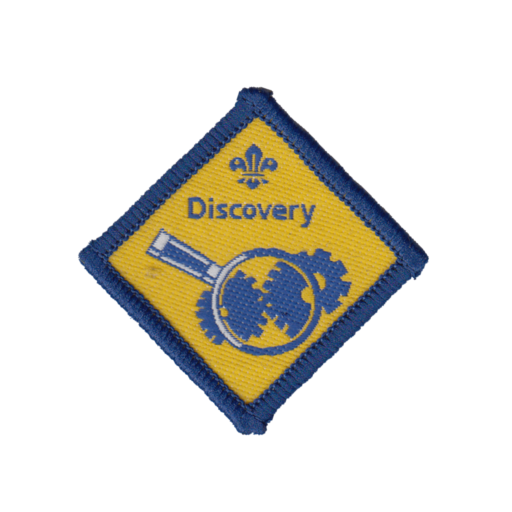 Beavers Discovery Challenge Award Badge (Pre 2009 Collection)