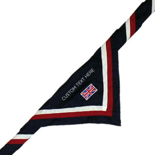 Custom Embroidered Official UK Necker – Adult