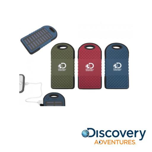 Discovery Adventures 4000MAH Solar Power Bank