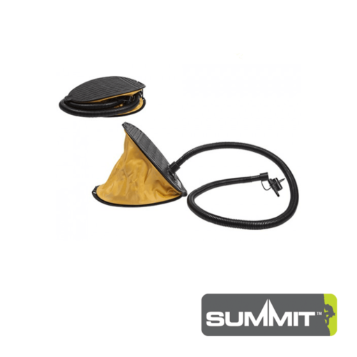 Summit Bellows Footpump With Accessories – 3 L