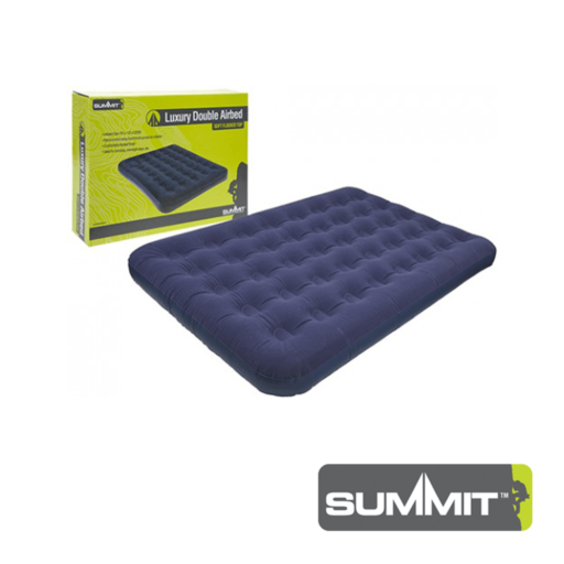Summit Flocked Airbed – Double