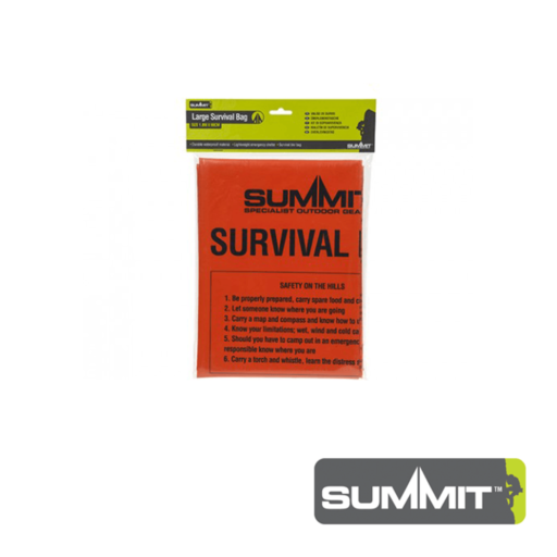 Summit Large Emergency Survival Bag