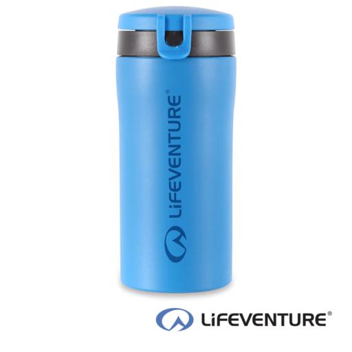 Lifeventure Flip-Top Thermal Mug – Blue