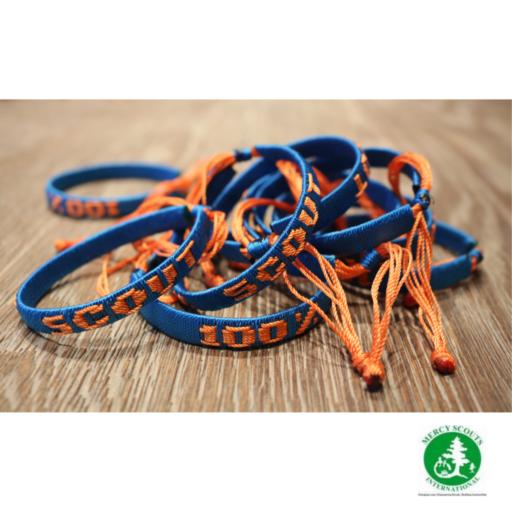 Mercy Scouts Handmade Bracelet