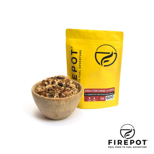 Firepot Chilli con Carne and Rice – Extra Large Serving