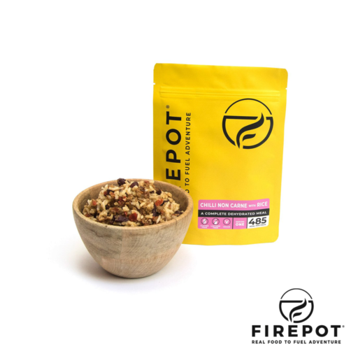 Firepot Chilli non Carne and Rice – Extra Large Serving