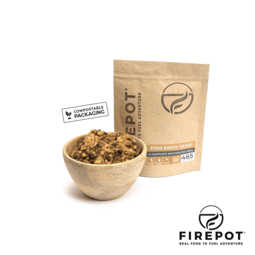 Firepot Posh Baked Beans – Compostable Bag