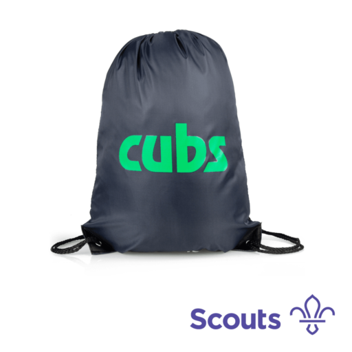 Cubs Drawstring Bag Scouting Gift