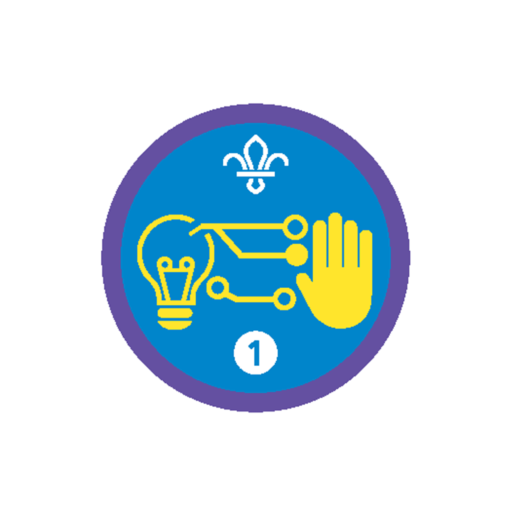 Digital Maker Stage 1 Staged Activity Badge