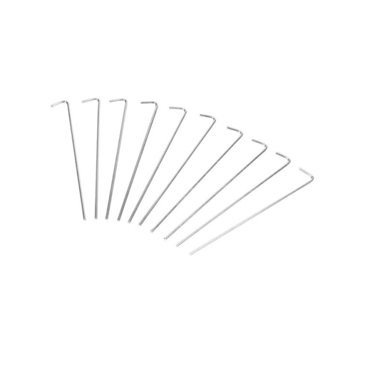 Gelert Roundwire Pegs – 10 Pack