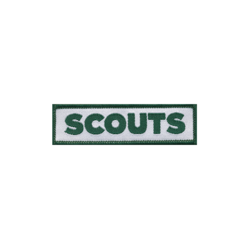 Scouts Embroidered Logo Fun Badge