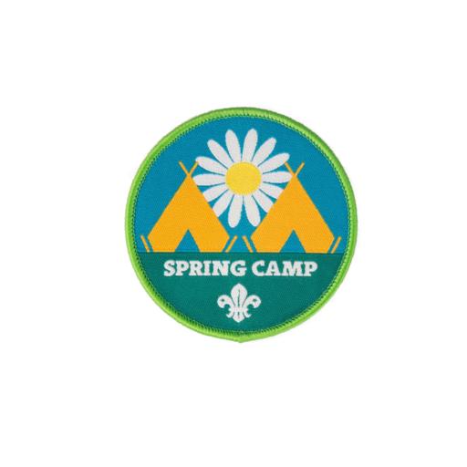 Spring Camp Fun Badge