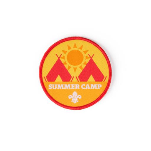 Summer Camp Fun Badge