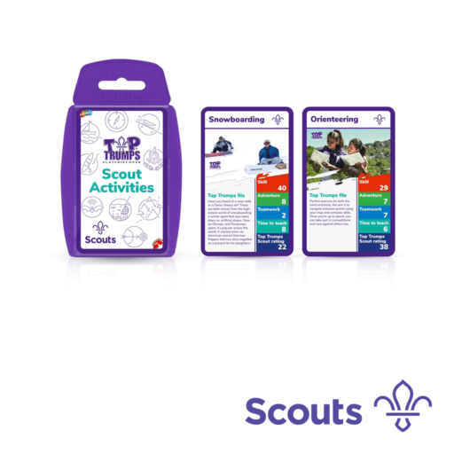 Top Trumps – Scout Activities Scouting Gift