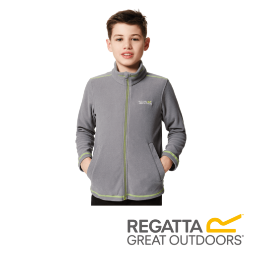 Regatta Kid's King II Lightweight Full Zip Fleece
