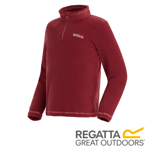 Regatta Kid's Hot Shot II Lightweight Half Zip Fleece