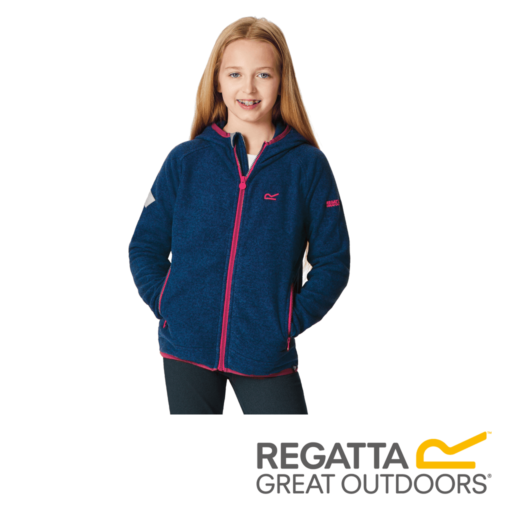 Regatta Kid's Totten Full Zip Hooded Fleece