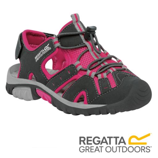 Regatta Kid's Deckside Sandal – Iron / Jem