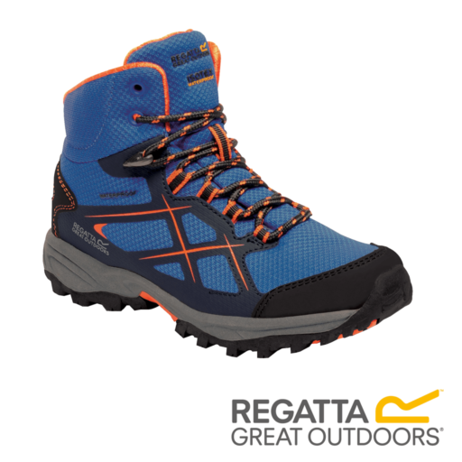 Regatta Kid's Kota Walking Boots – Oxford / Blaze