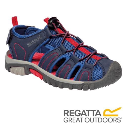 Regatta Kid's Westshore Sandals – Navy / Pepper