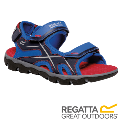 Regatta Kid's Kota Drift Sandals – Oxford Blue / Pepper