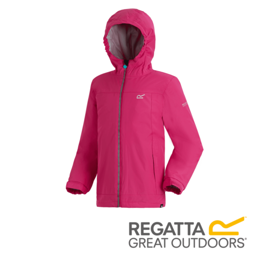 Regatta Kid's Hurdle II Waterproof Insulated Jacket – Duchess