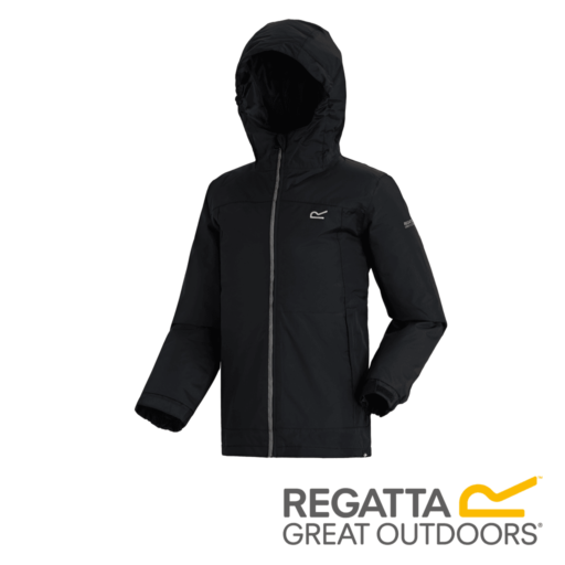 Regatta Kid's Hurdle II Waterproof Insulated Jacket – Black