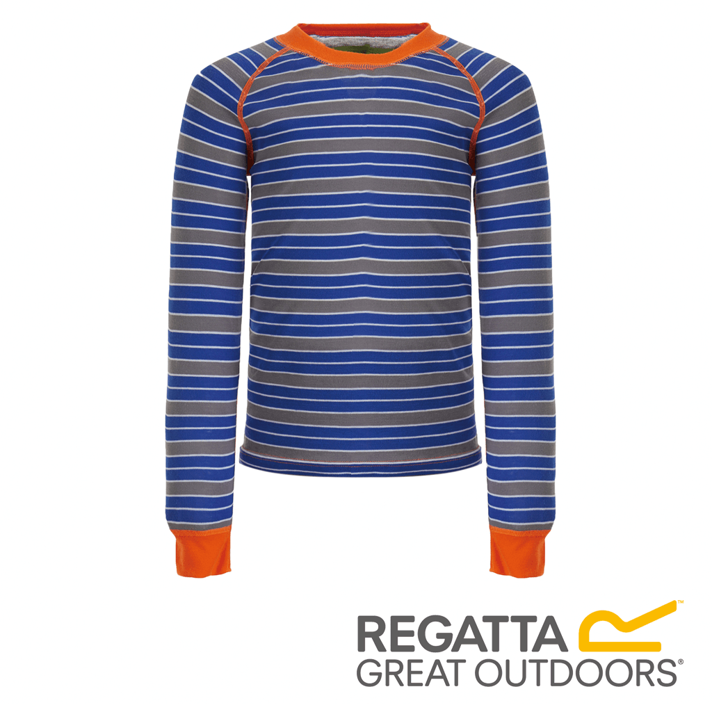 Regatta Great Outdoors Childrens//Kids Nessus Striped Base Layer Trouser