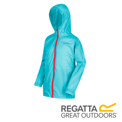 Regatta Kid's Pack It Jacket III Waterproof Packaway – Ceramic