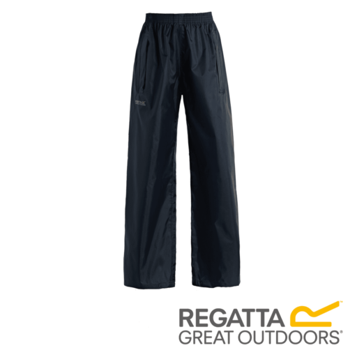 Regatta Kid's Stormbreak Waterproof Overtrousers – Navy