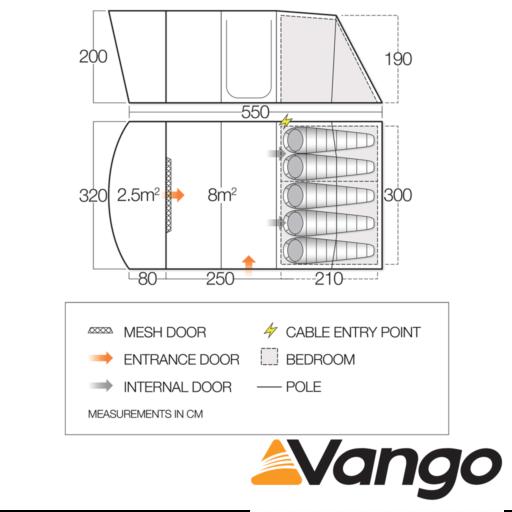 Vango Avington 500XL