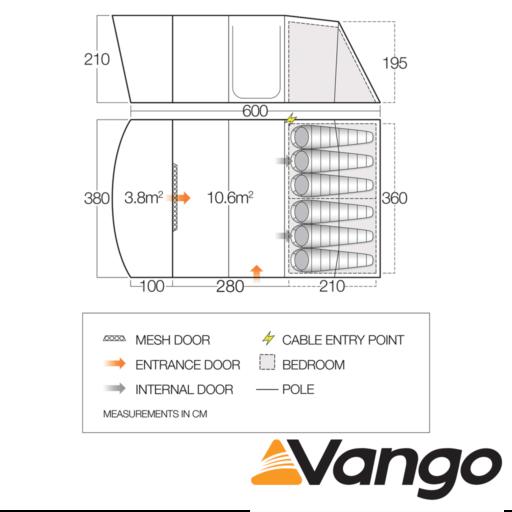 Vango Avington 600XL